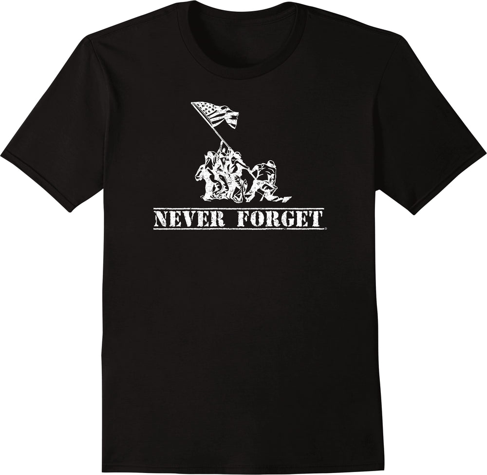 Never Forget - Distressed Print