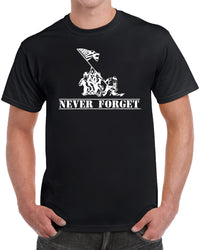Never Forget - Solid Print