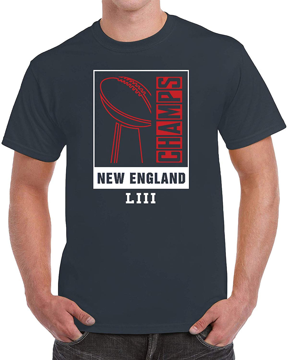 New England Champions Football - Navy