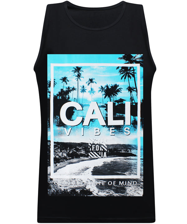 Paradise Vibes Golden State Of Mind - Tank