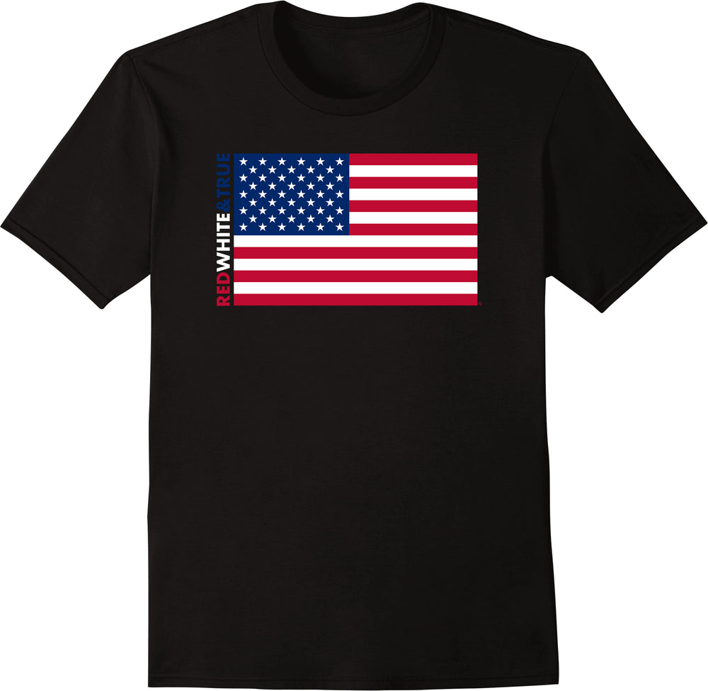 Red White & True American - Solid Print