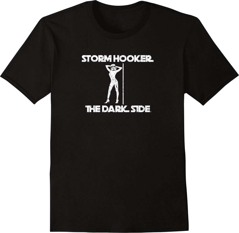 Storm Hooker The Dark Side Parody - Distressed Print