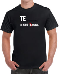 Te Amo Tequila - Solid Print
