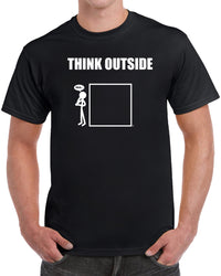 Think Outside The Box - Solid Print