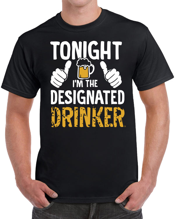 Tonight I'm The Designated Drinker - Beer Mug