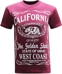 California Republic West Coast - Burgundy