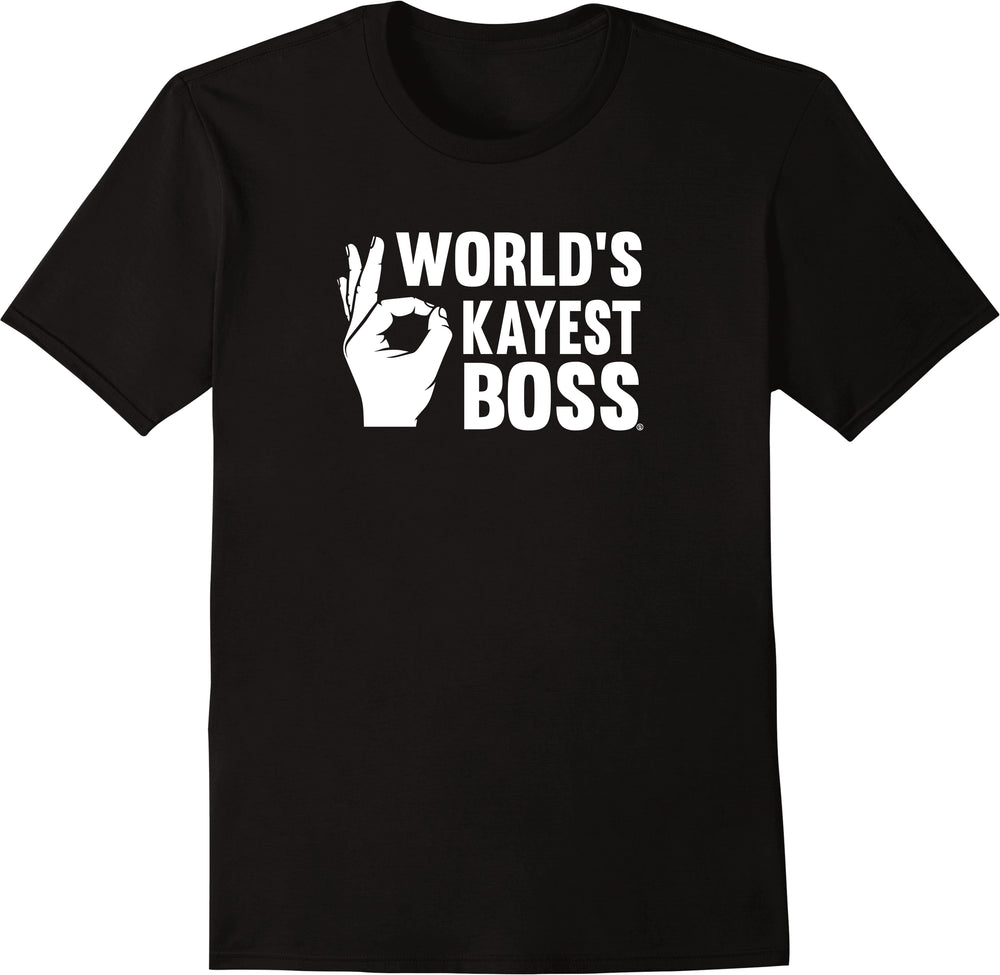 World's Okayest Boss Appreciation