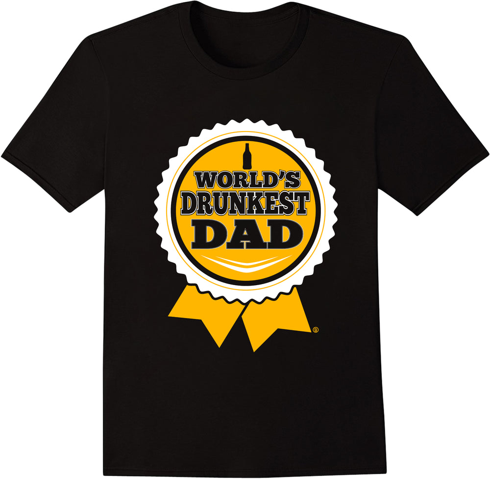 World's Drunkest Dad - Ribbon
