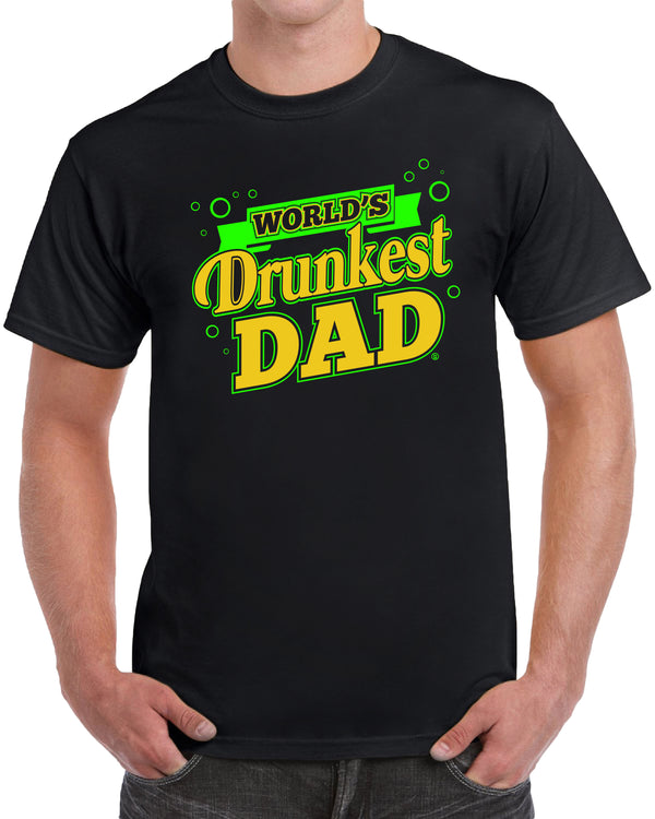 World's Drunkest Dad - Yellow