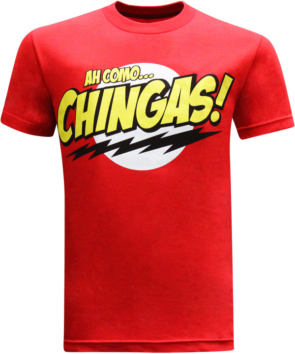 Ah Como Chingas Mexican Latino Men's Funny T-Shirt - tees geek