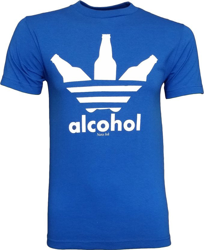 286be381 Alcohol Men's Funny Drinking T-Shirt - tees ...