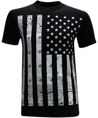 California Republic Bandana Flag Men's T-Shirt - tees geek