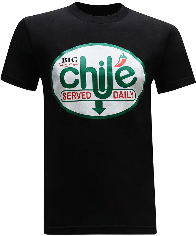 Big Chile Mexican Latino Men's Funny T-Shirt - tees geek
