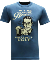 Buy Me Another Beer Men's Funny Drinking T-Shirt - tees geek