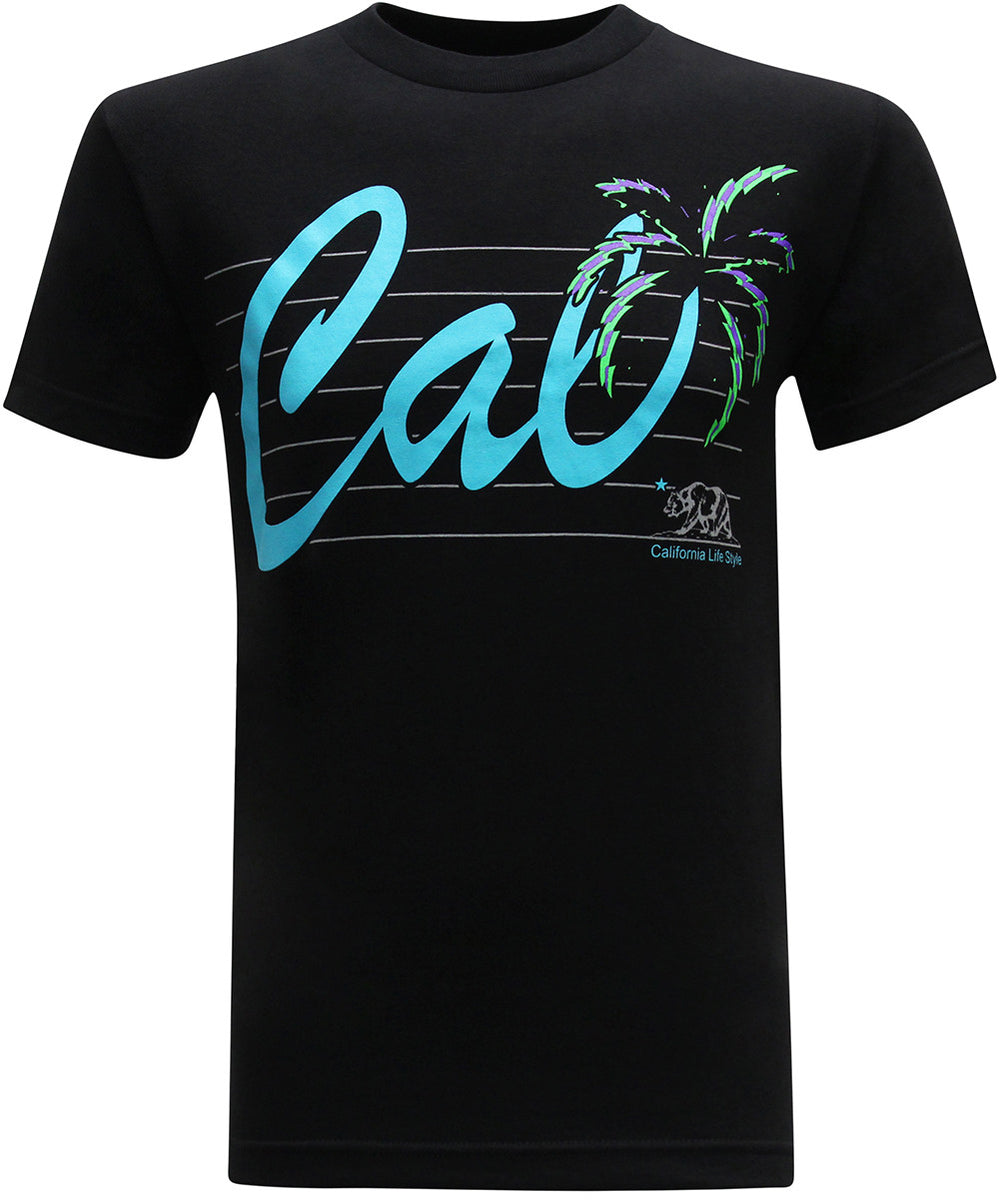 California Republic Cali Neon Men's T-Shirt - tees geek