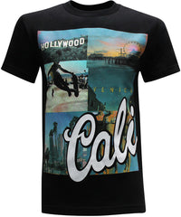 California Republic Cali Venice Men's T-Shirt - tees geek