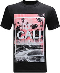 Cali Vibes Golden State of Mind - Black