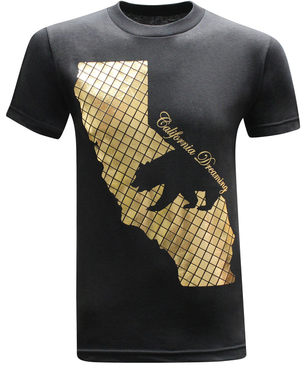 California Republic 24K Men's T-Shirt - tees geek