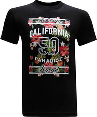California Republic Paradise Men's T-Shirt - tees geek