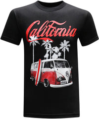California Republic Surf's Up Men's T-Shirt - tees geek