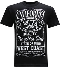 California Republic West Coast Men's T-Shirt - tees geek