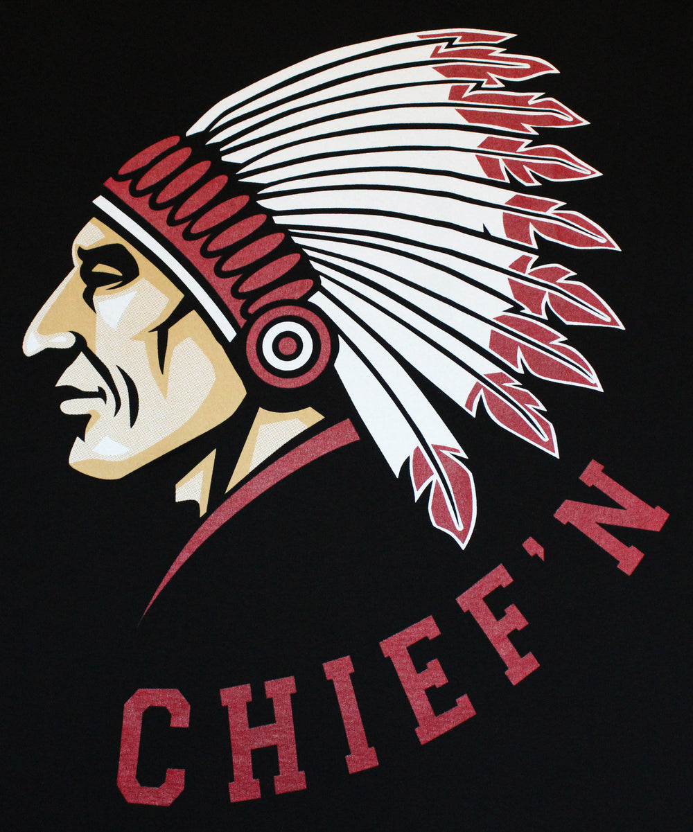 Chief'n Men's Funny T-Shirt - tees geek