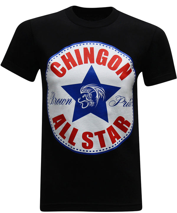 Chingon All-Star Mexican Latino Converse Men's Funny T-Shirt - tees geek