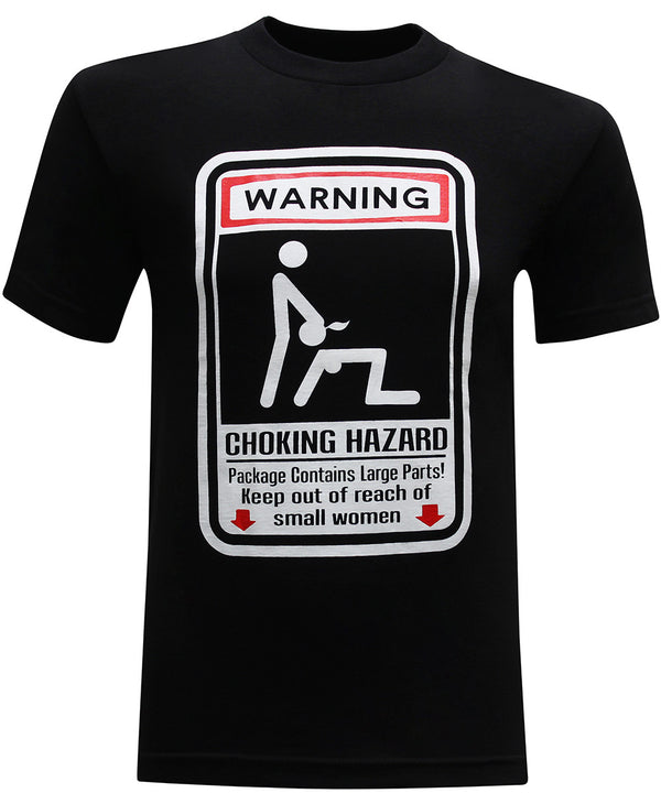 Choking Hazard Men's Funny T-Shirt - tees geek