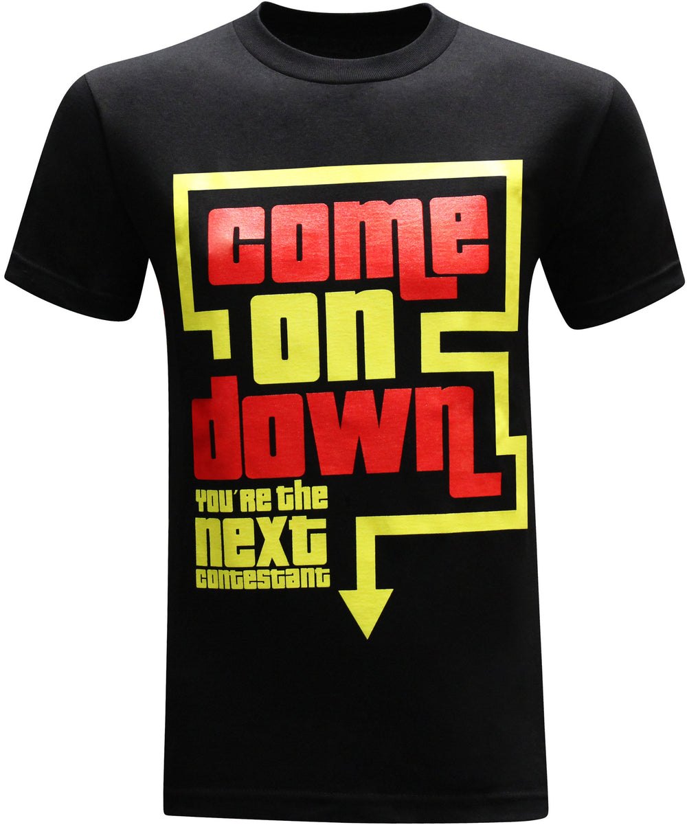 Come on Down Men's Funny T-Shirt - tees geek