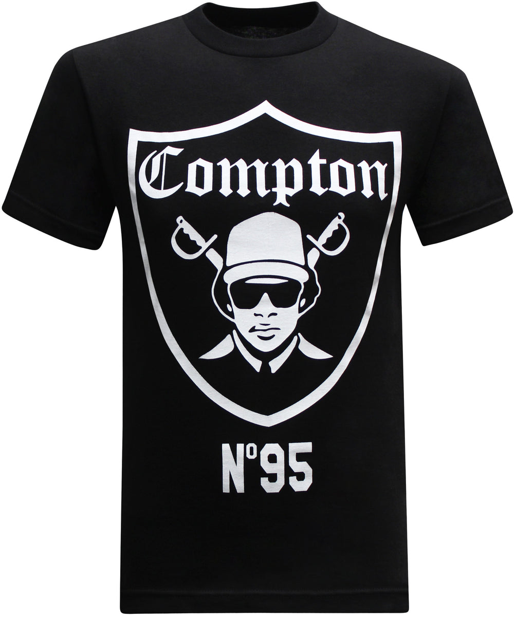 California Republic Compton Nation Men's T-Shirt - tees geek