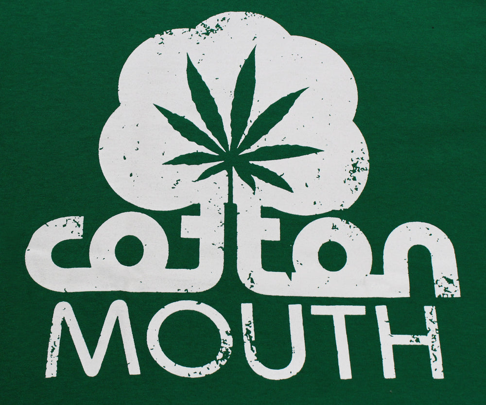 Cotton Mouth 420 Marijuana Weed Cannabis