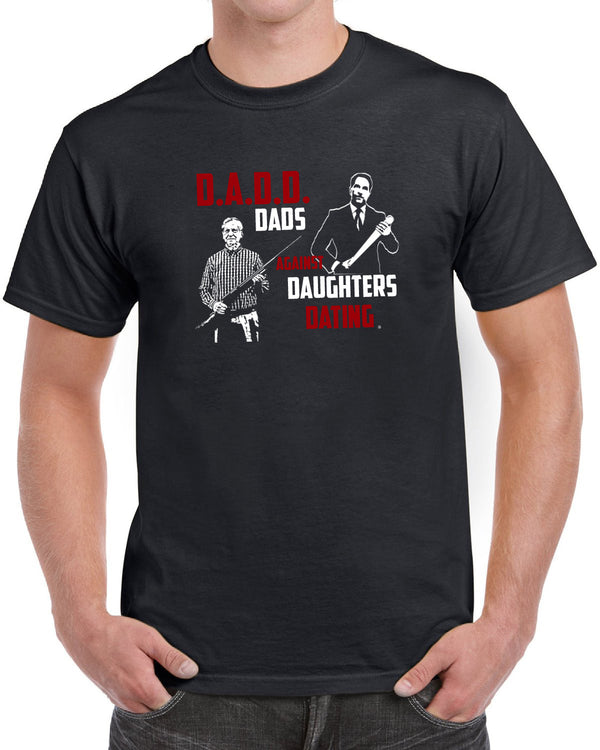 Dads Against Daughters Dating Father's Day Birthday Gifts Men's T-Shirt - tees geek