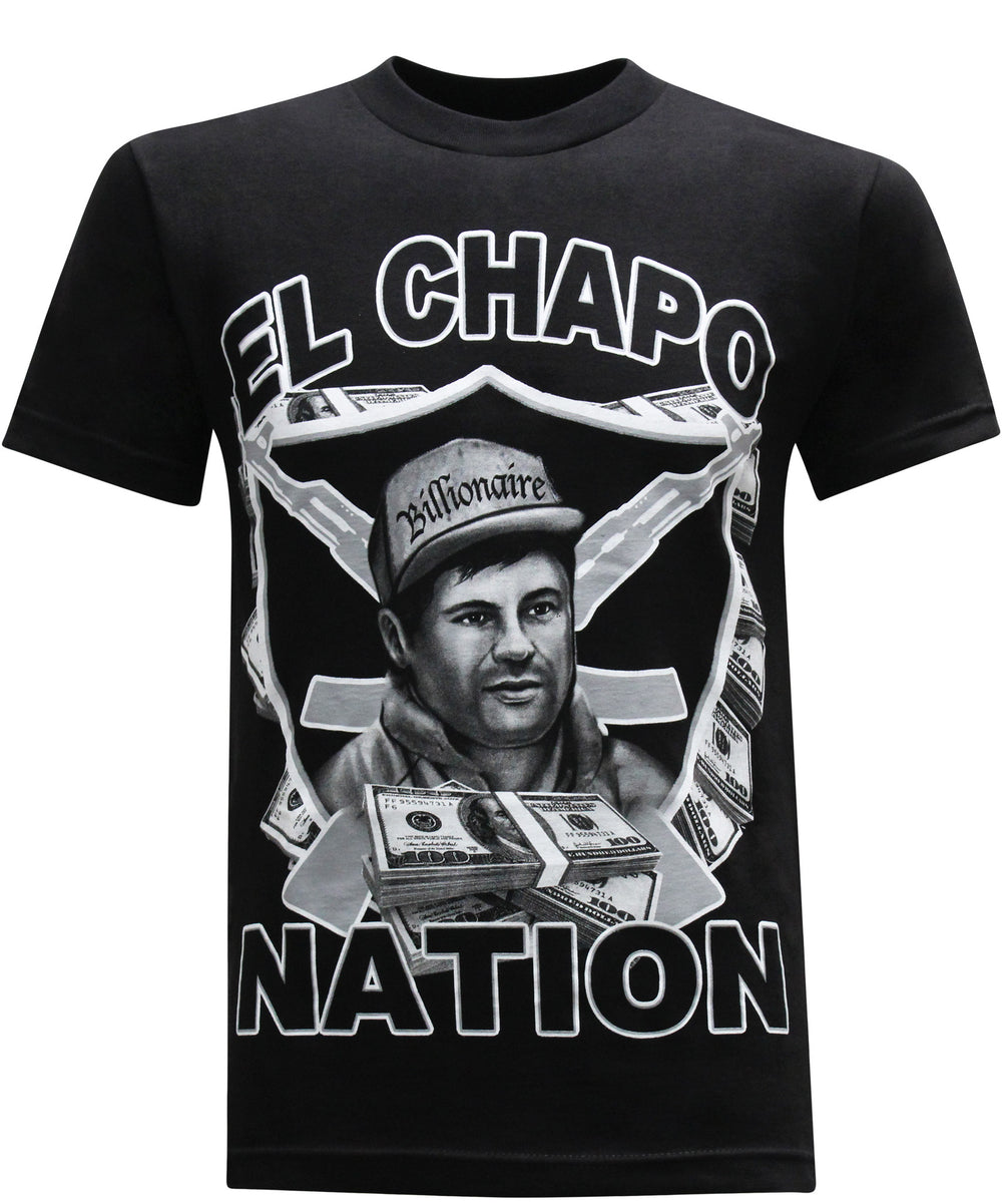 El Chapo Guzman Billionaire Men's T-Shirt - tees geek