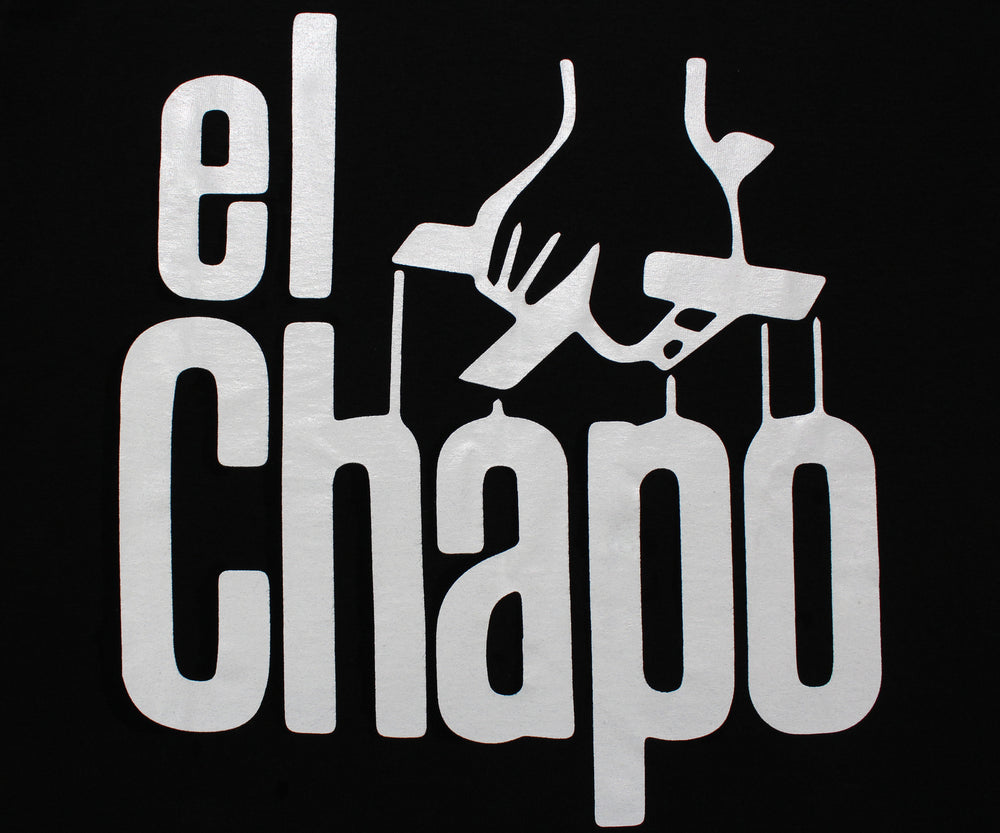 El Chapo Guzman The Godfather Men's T-Shirt - tees geek