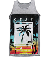 California Republic Stay Cali - Tank Grey