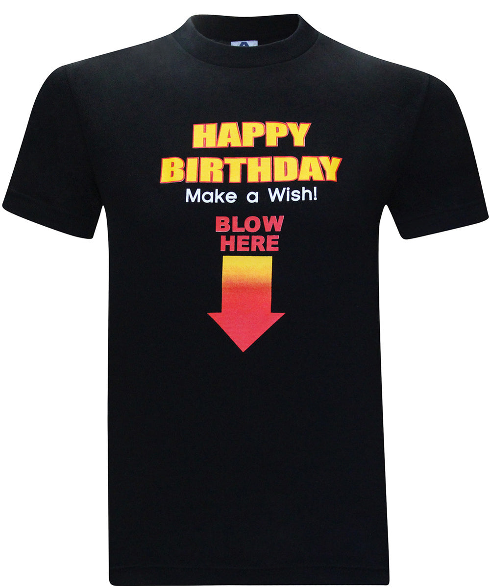 Happy Birthday Make A Wish Blow Here