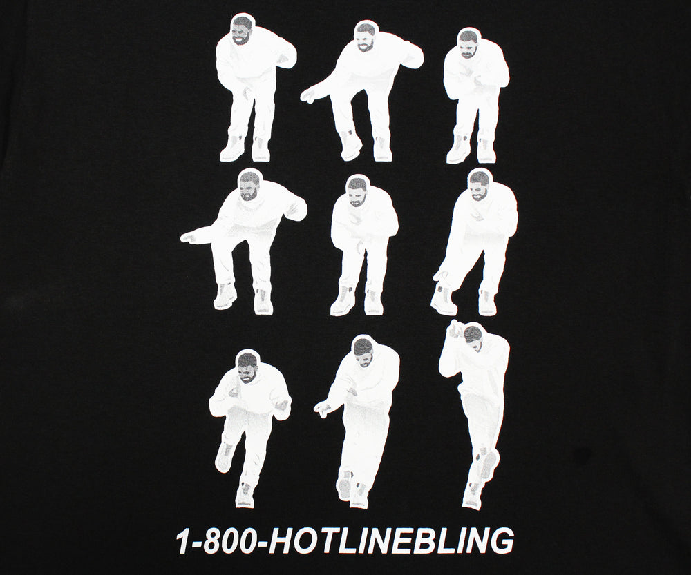 1-800 Hotline Bling Dancing Drake Men's Funny T-Shirt - tees geek