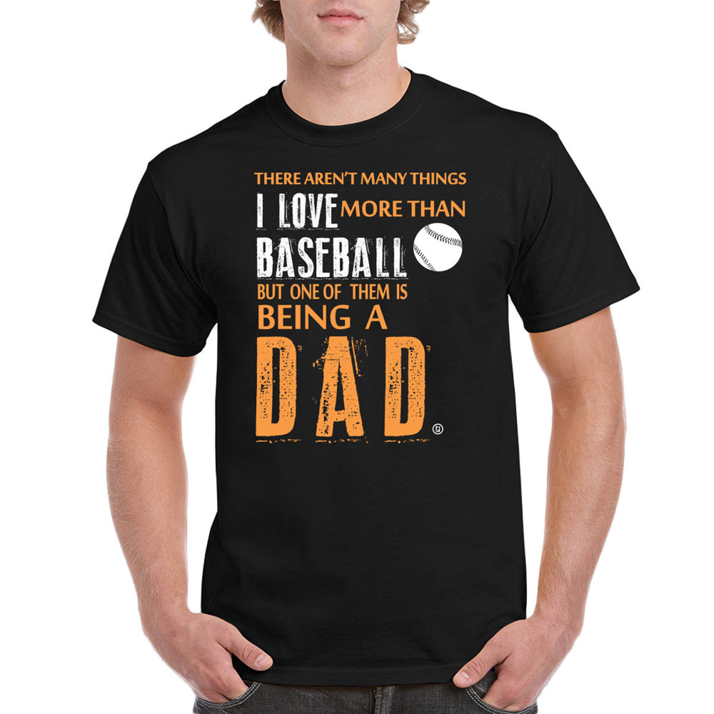 Baseball Dad I Love Baseball Fathers Day Gifts Birthday Gifts Men's T-Shirt - tees geek