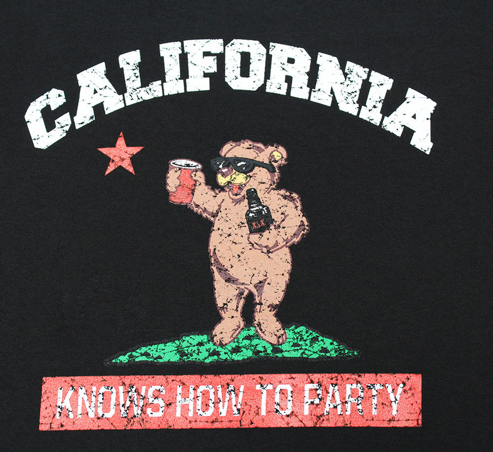 California Republic Knows How To Party Men's T-Shirt - tees geek