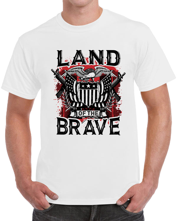 Land Of The Brave - White