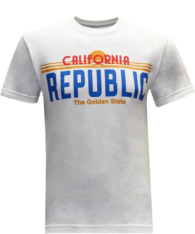 California Republic License Men's T-Shirt - tees geek