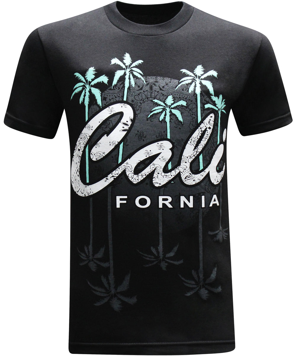 California Republic Nights in the West Men's T-Shirt - tees geek