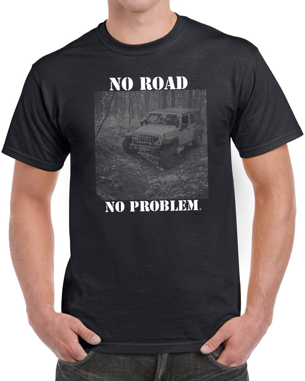 No Road No Problem Jeep