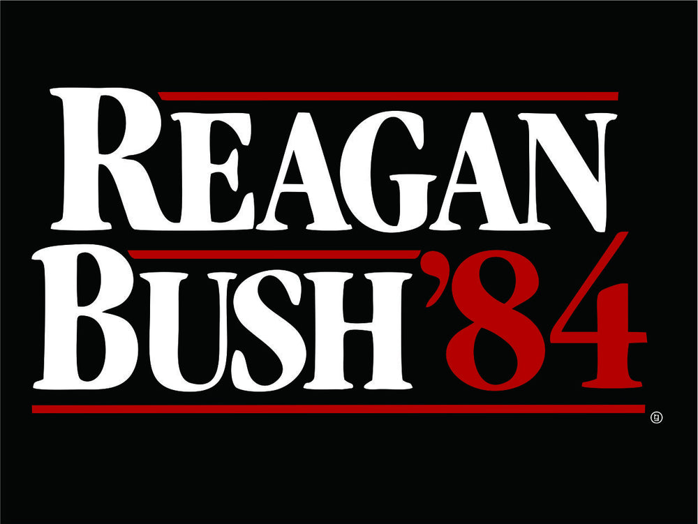 Reagan Bush 84