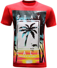 California Republic Stay Cali Shirt - Red