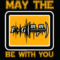 May The Force Be With You Science Physics