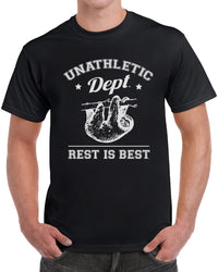 Unathletic Department Rest Is Best