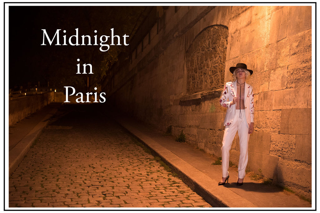 Fashion Story: Midnight in Paris