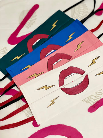 Pack 4 mascarillas LABIOS