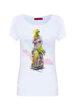 Camiseta Estatua Blanco